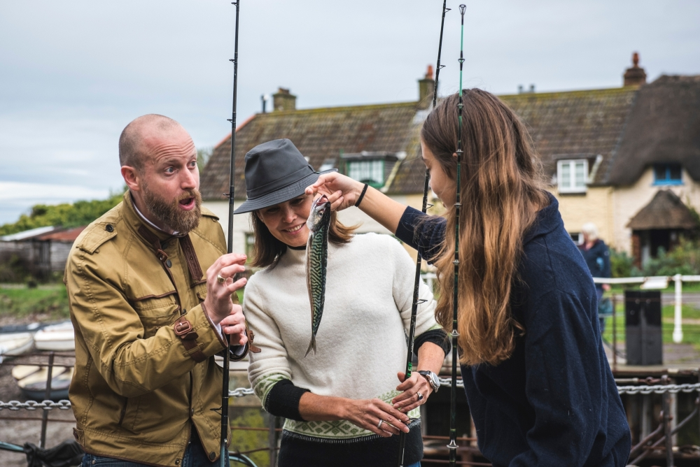 Fishing and dining at Locanda on the Weir